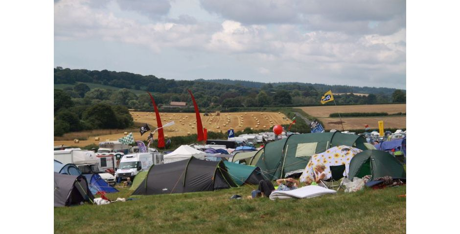 Tolpuddle 2014 - Campsite